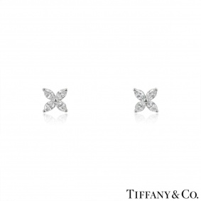 Tiffany & Co. Diamond Victoria Earrings
